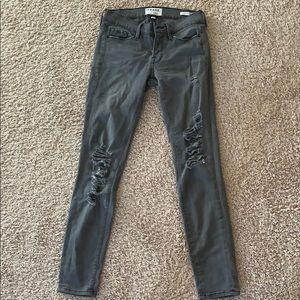 Frame gray jeans